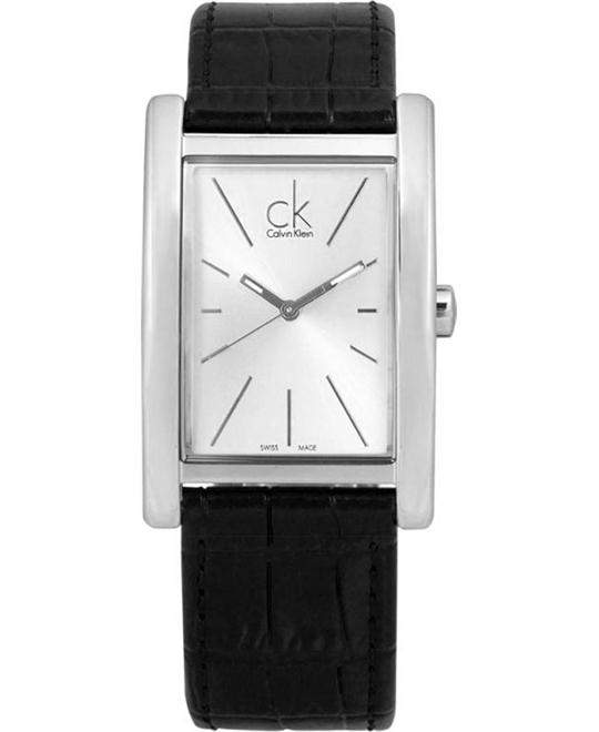 Calvin Klein Swiss Refine Black Watch 45x30mm