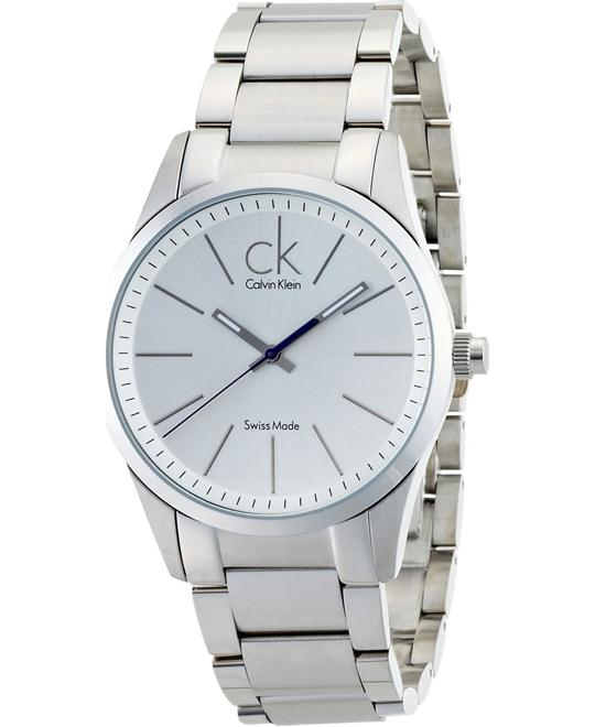 CALVIN KLEIN WATCH BOLD SILVER 41MM