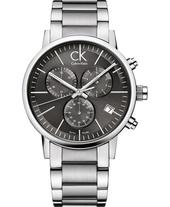 Calvin Klein Watches SILVER BLACK 42mm