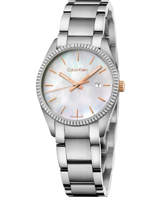Calvin Klein Women's Swiss Alliance Watch 30mm