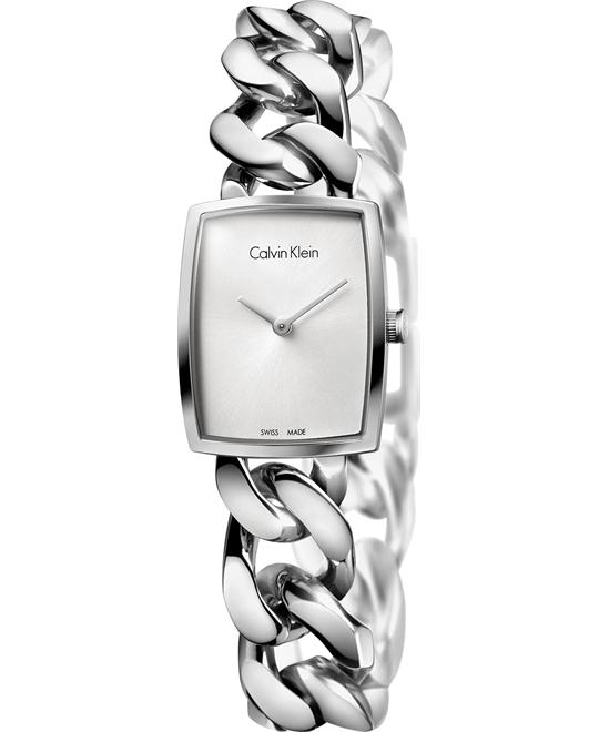 Calvin Klein Women's Swiss Amaze Watch 27x22mm