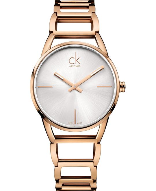 Calvin Klein Women's Swiss Rose - Gold 34mm