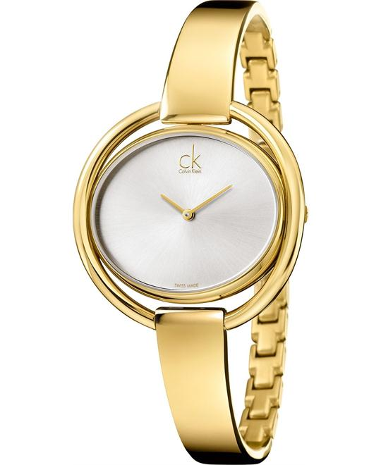 Calvin Klein Women's Swiss Gold Stainless 40mm