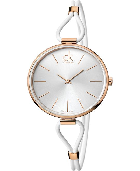 Calvin Klein Women's Swiss Leather 38mm