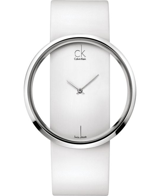 Calvin Klein Women's Swiss Leather 42mm
