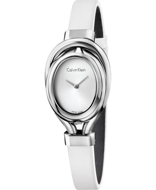 Calvin Klein Women's Swiss Microbelt Watch 49x28mm