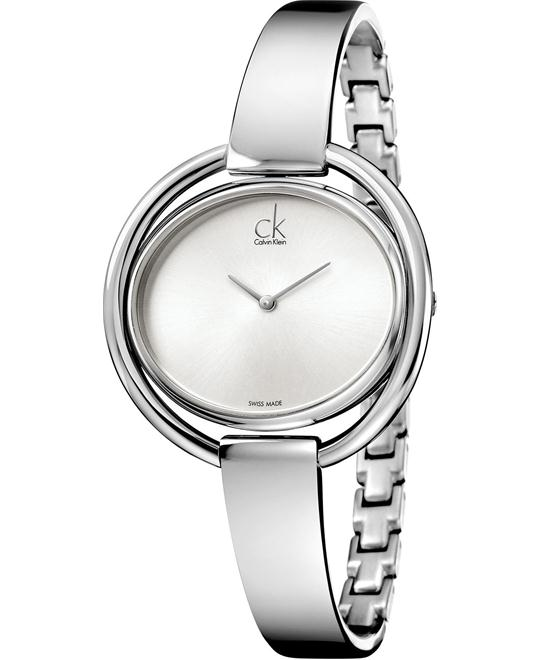 Calvin Klein Women's Swiss Stainless Steel 40mm