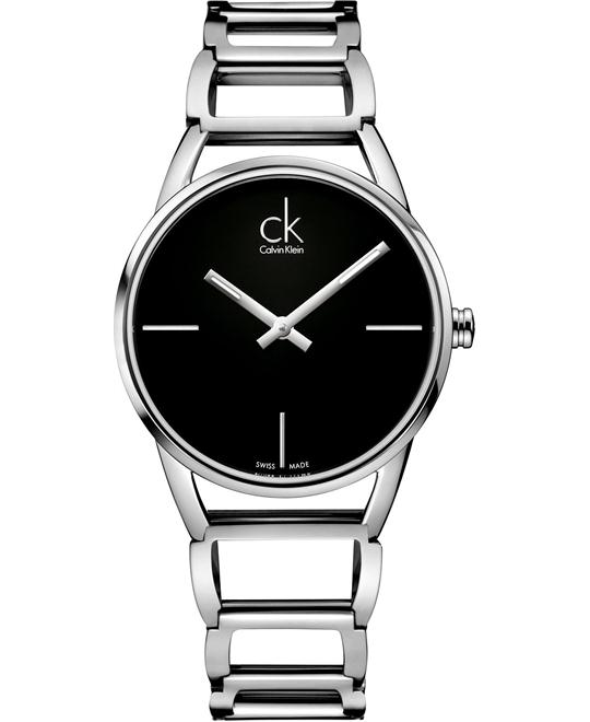 Calvin Klein Women's Swiss Stately Stainless 34mm