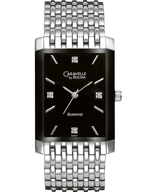 Caravelle by Bulova Men's Diamond Watch 27mm