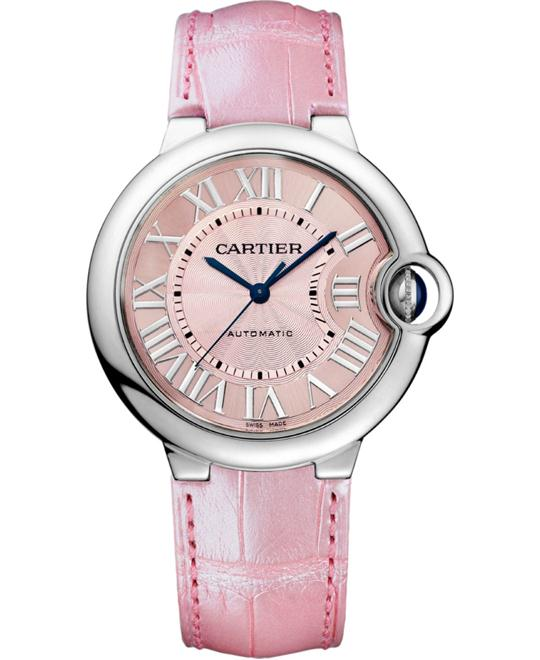 CARTIER Ballon Bleu Automatic Pinks Watch 36mm
