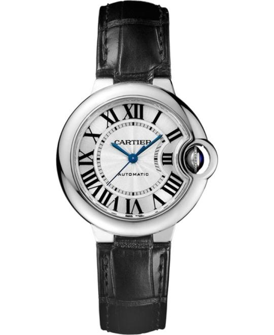 CARTIER W6920085 Ballon Bleu Automatic Watch 33mm