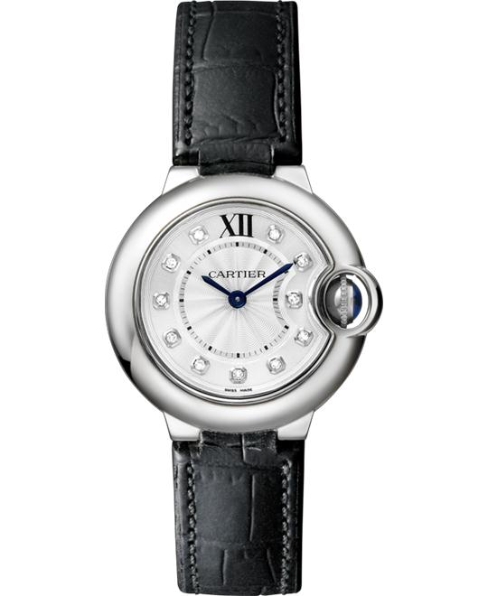 CARTIER Ballon Bleu Cartier Diamond watch 28mm