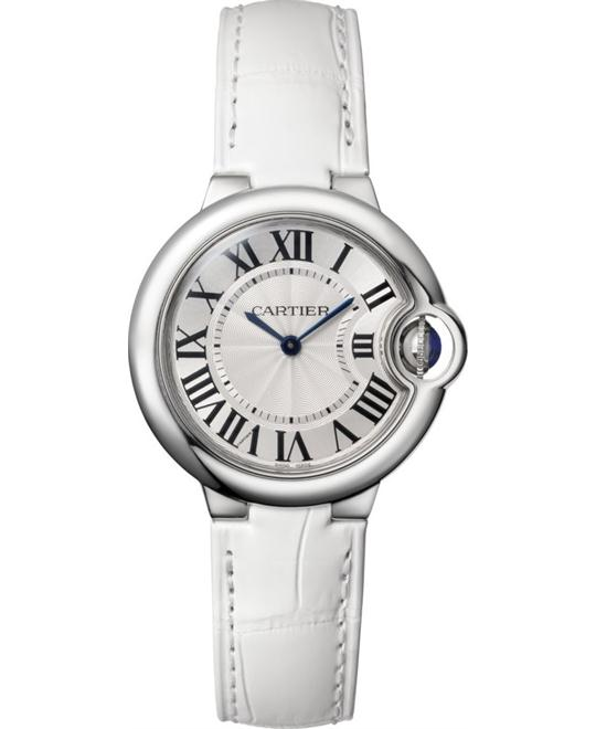 CARTIER W6920086 Ballon Bleu De Cartier Watch 33mm
