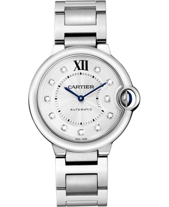 đồng hồ CARTIER WE902075 Ballon Bleu Diamond Dial Unisex 36.6mm