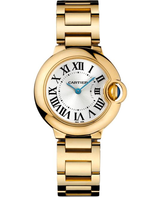 Cartier W69001Z2 Ballon Bleu Ladies Watch 28mm
