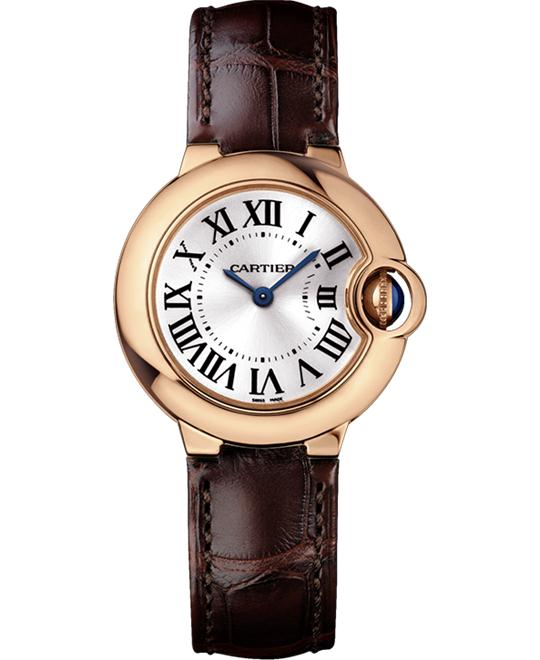 CARTIER WGBB0007 Ballon Bleu 18K Rose Gold 28.6mm