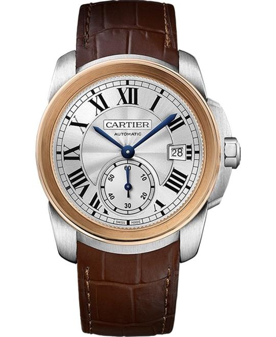 CARTIER W2CA0002 Calibre De Cariter 18k Rose Gold 42mm