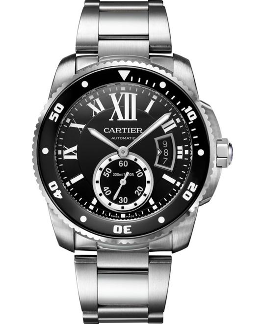 CARTIER W7100057 Calibre de Cartier Diver Watch 42mm