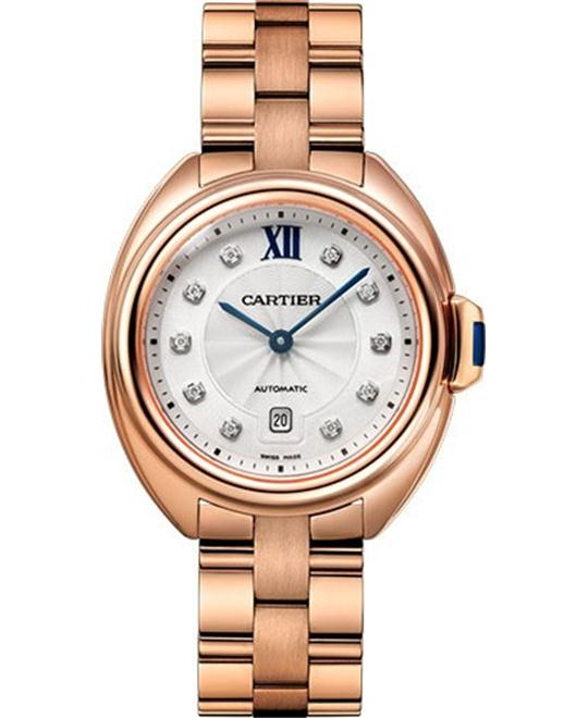 CARTIER WJCL0034 Cle Automatic Watch 31mm