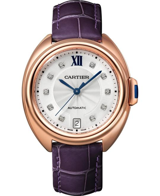 Cartier Cle Automatic Ladies Watch 35mm