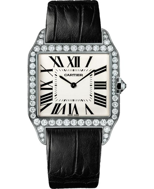 CARTIER WH100651 Santos-Dumont Diamond 44.48x34.6mm