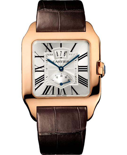 CARTIER W2020067 Santos-Dumont Mechanical Watch 38x47.4mm