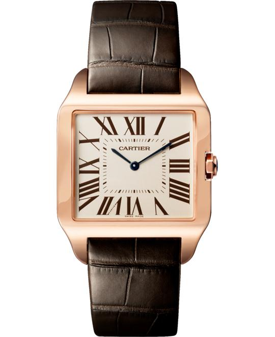 CARTIER W2006951 Santos-Dumont Rose Gold 44.6x34.6mm