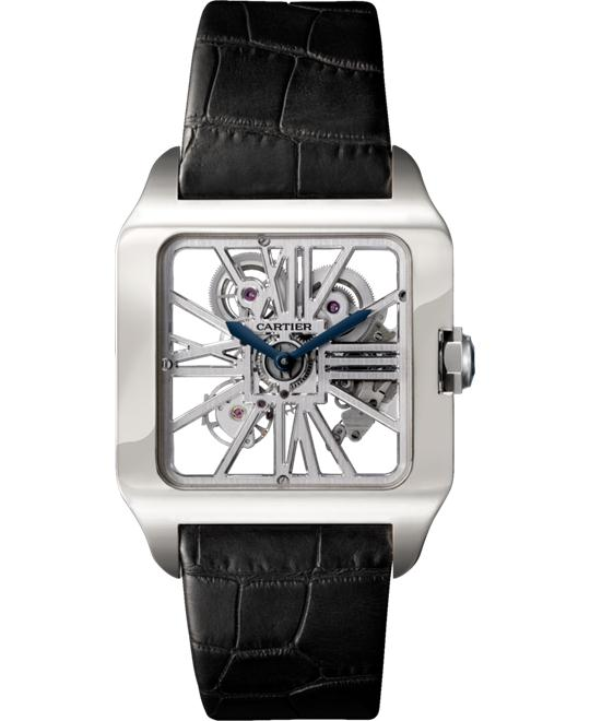 CARTIER W2020033 Santos-Dumont Skeleton Watch 38.7x47mm