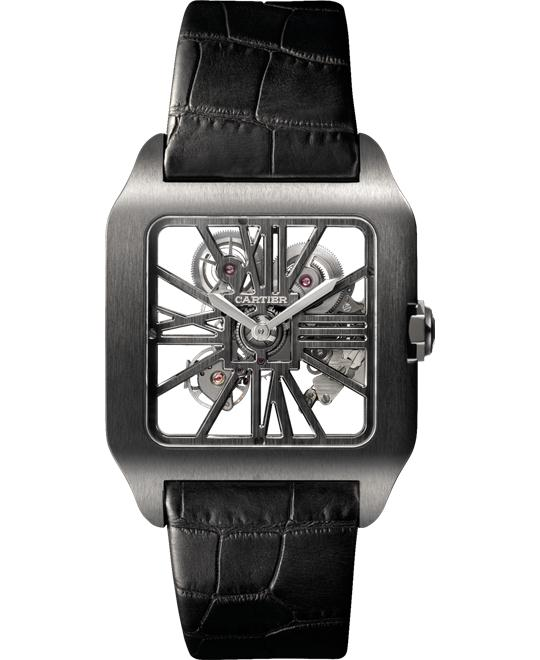CARTIER W2020052 Santos-Dumont Skeleton 38.7 x 47.4 mm