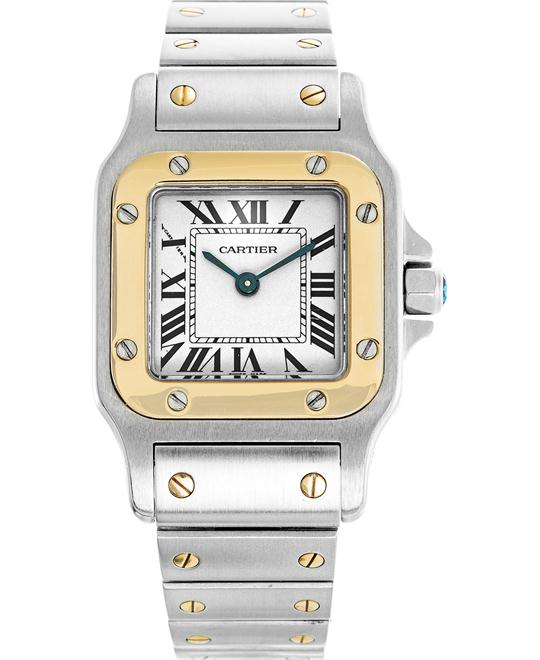 đồng hồ Cartier Santos W20012C4 Galbee Ladies Watch 26.2X34.8mm