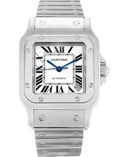 đồng hồ Cartier Santos W20098D6 Mens Steel Watches 34.87 X45.54mm