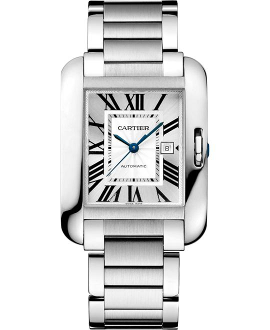Cartier W5310009 Tank Anglaise Auto Watch 39.2x29.8mm.