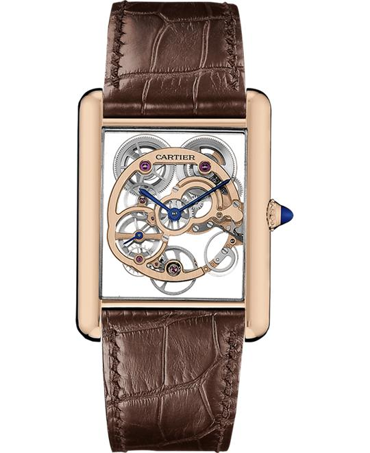 CARTIER WHTA0002 TANK LOUIS SKELETON 30X39MM