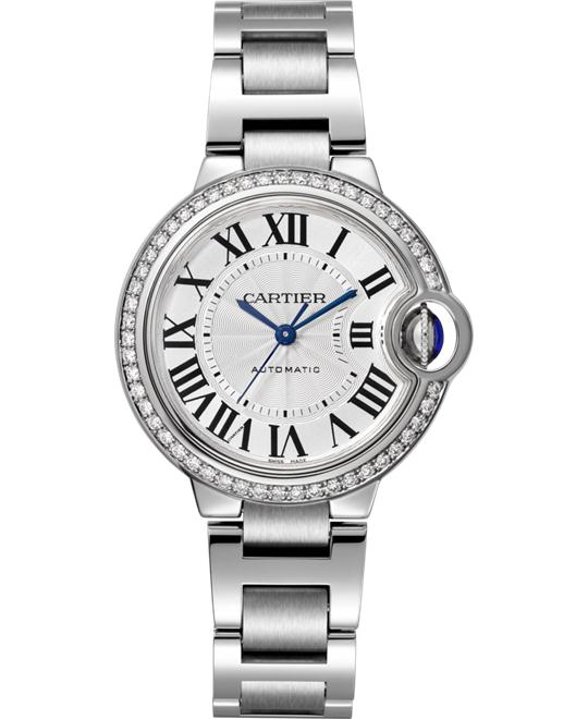 đồng hồ Cartier W4BB0016 Ballon Bleu watch 33mm