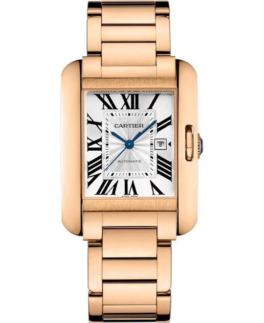 CARTIER W5310003 TANK ANGLAISE WATCH 39.2 X 29.8 MM
