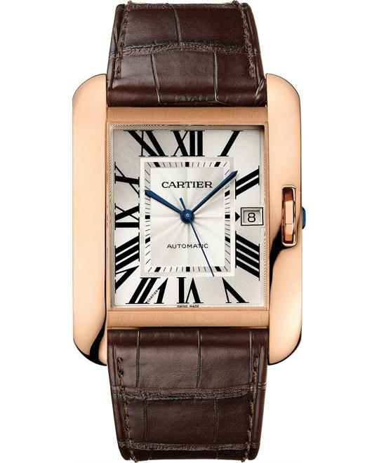 Cartier W5310004 Tank Anglaise Watch 47mm X 36.2mm