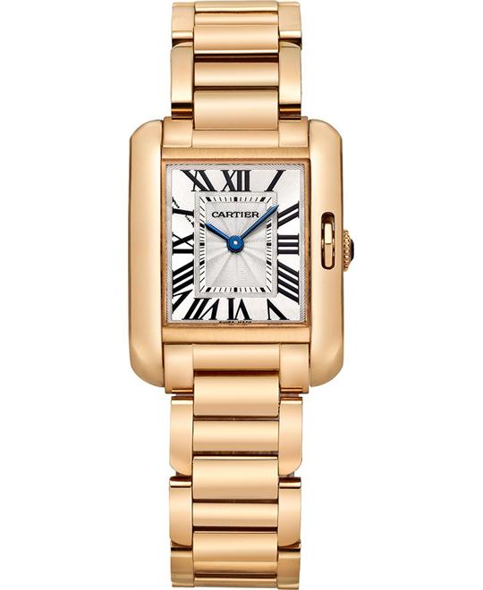 Cartier W5310013 Tank Anglaise Watch 30.2 x 22.7 mm
