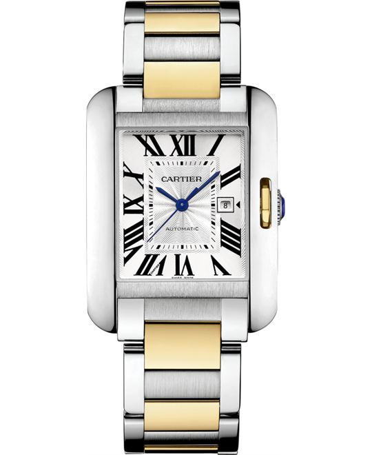 CARTIER W5310047 TANK ANGLAISE WATCH  39.2 X 29.8MM