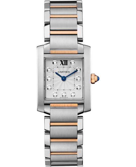đồng hồ Cartier WE110004 Tank Française watch 25.35x20.25mm