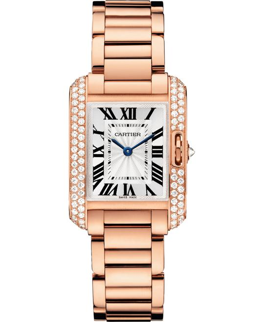 CARTIER WT100002 Tank Anglaise 30.2 mm x 22.7mm