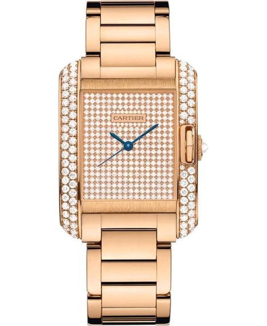 Cartier WT100012 Tank Anglaise 30.2*22.7mm