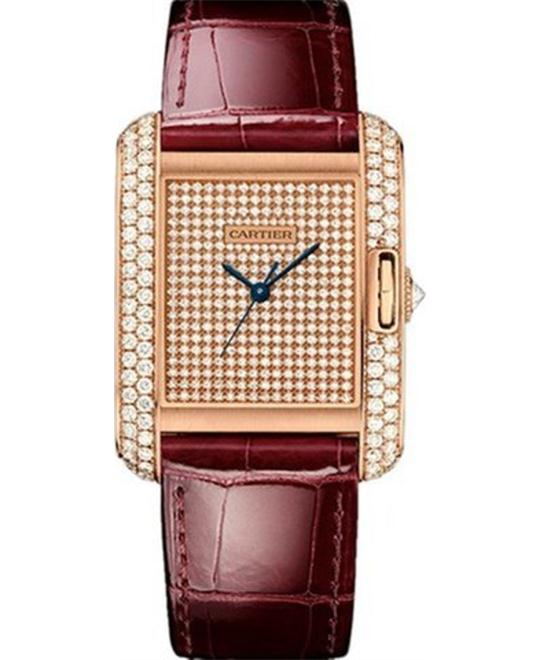 Cartier WT100019 Tank Anglaise 39.2*29.8mm