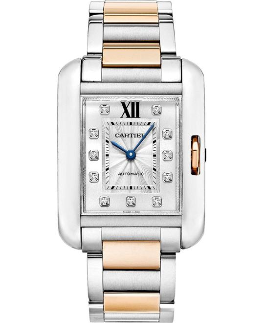 Cartier WT100025 Tank Anglaise AutomaticLadies Watch 39 x 29.8 mm.