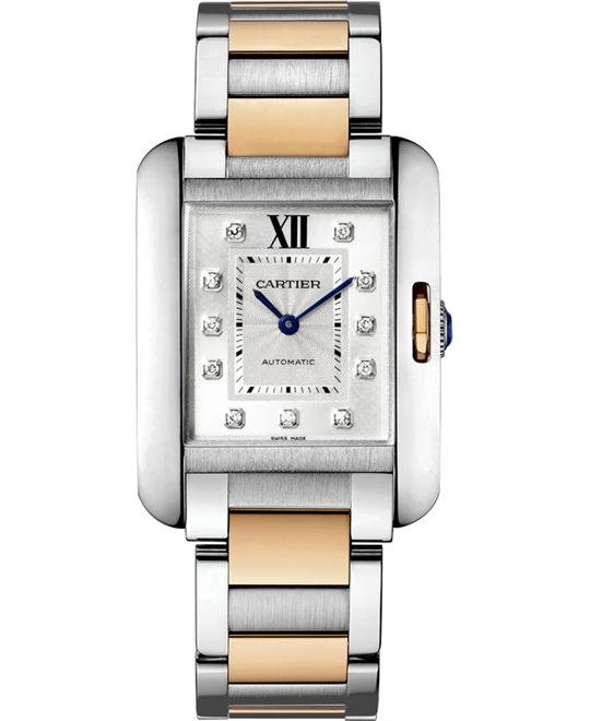 CARTIER WT100034 TANK ANGLAISE WATCH 39.2 X 29.8 MM