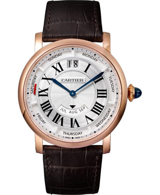 CATIER ROTONDE DE ANNUAL CALENDAR WATCH 40MM