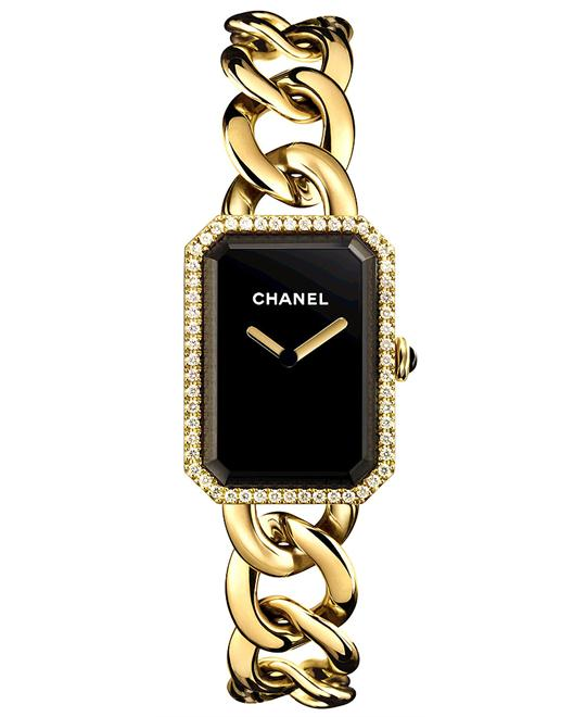 Chanel h3259 Ladies Gold Polished Premiere 20mmX28mm