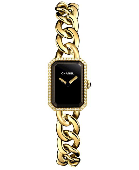 Chanel h3258 Ladies Sapphire 18kt Yellow Gold 16mm X 22mm