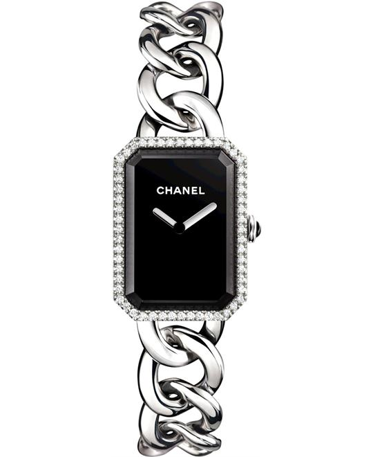 Chanel Ladies Stainless Steel Polished 20mm X 28mm