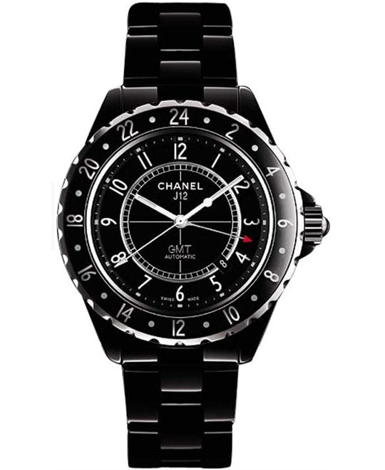 Chanel h2012 Mens Automatic Ceramic GMT Sapphire 42mm
