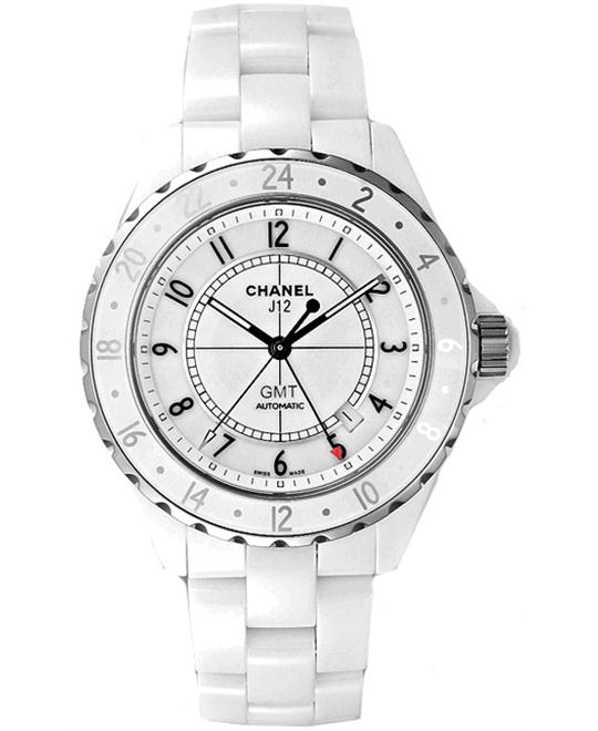 Chanel H2126 Mens Automatic Ceramic Sapphire GMT 42mm